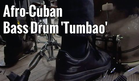 Afro Cuban – Bass Drum Tumbao