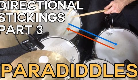 Directional Stickings Part 3 – Paradiddles