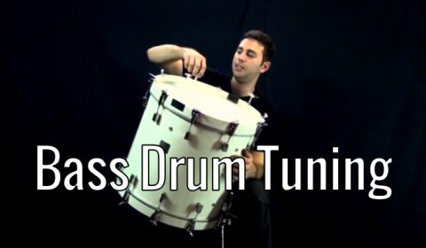 Drum Tuning – Bass Drum