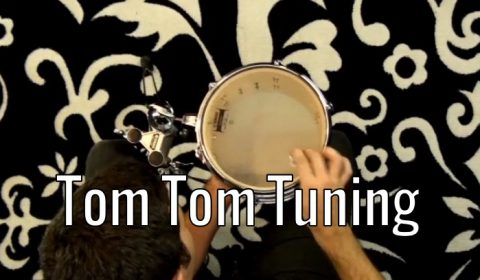 Drum Tuning – Tom Toms