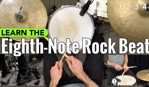 Eighth-Note Rock Beat