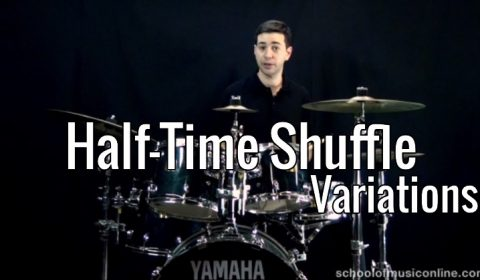 Half-Time Shuffle Variations