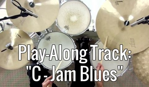 Play-along – C Jam Blues