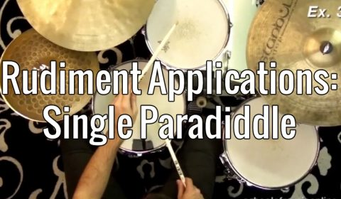 Rudiment Applications – Single Paradiddle