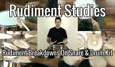 Rudiments – Inverted Flam Tap