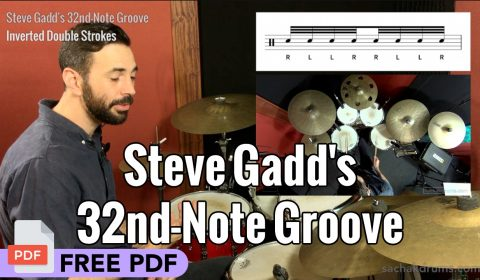 Steve Gadd's 32nd-Note Groove