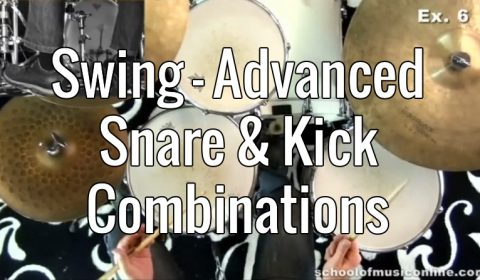 Swing – Advanced Snare & Kick Combinations