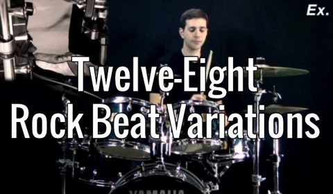 Twelve Eight Rock Beat Variations