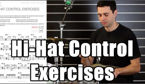 Hi-Hat Control Exercises
