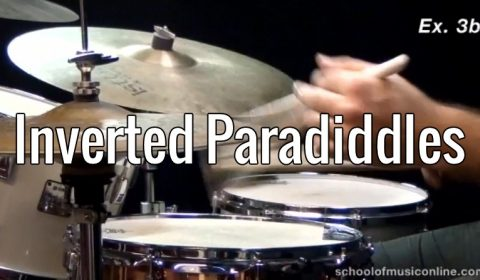 Rudiment Applications – Inverted Paradiddles
