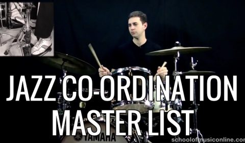 Jazz Coordination Master List
