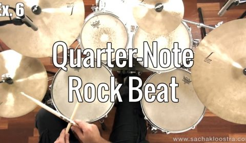 Quarter-Note Rock Beat