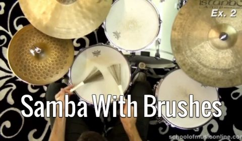 Brazilian – Samba With Brushes