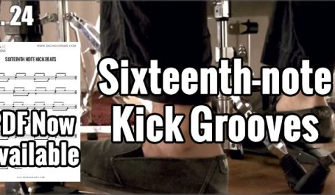 Sixteenth-Note Kick Grooves